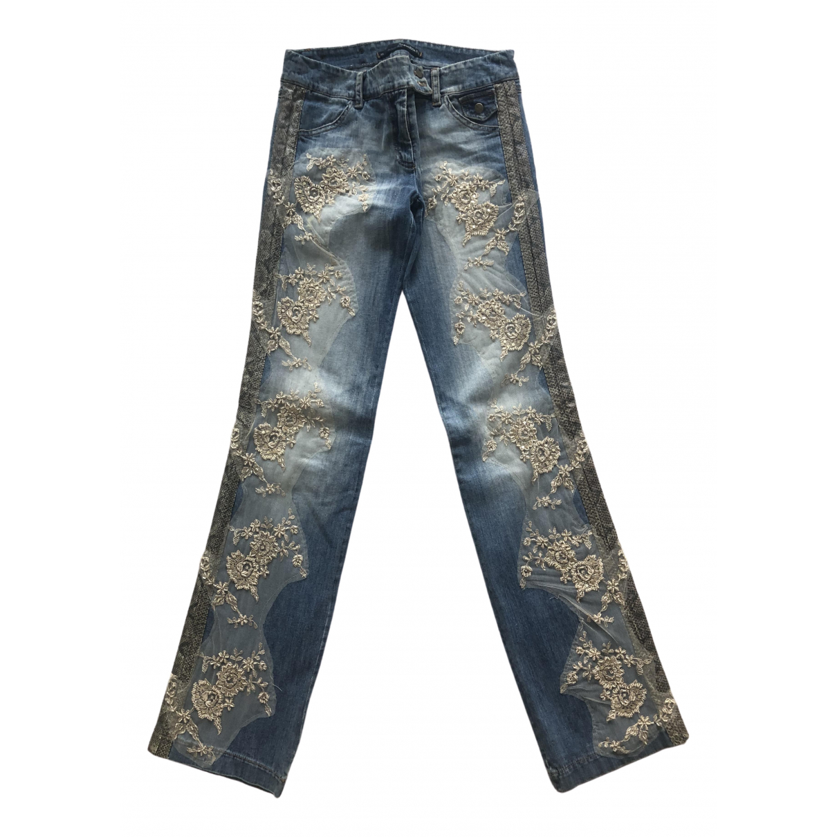 Pantalon recto Hippie Chic Non Signe / Unsigned