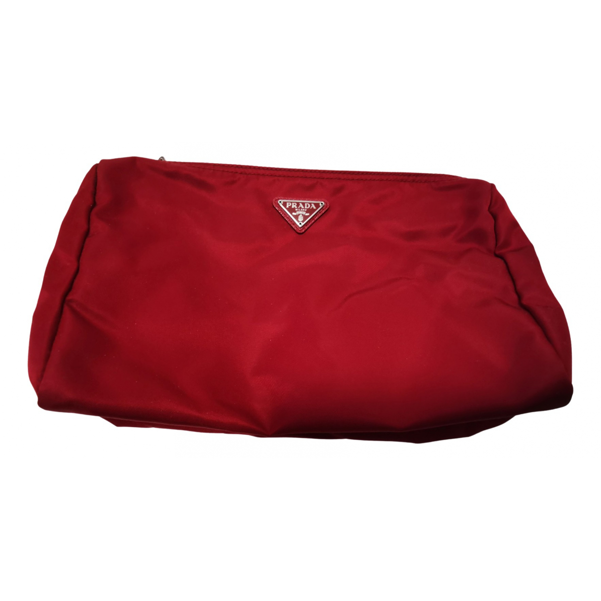 Prada \N Red Cloth Travel bag for Women \N