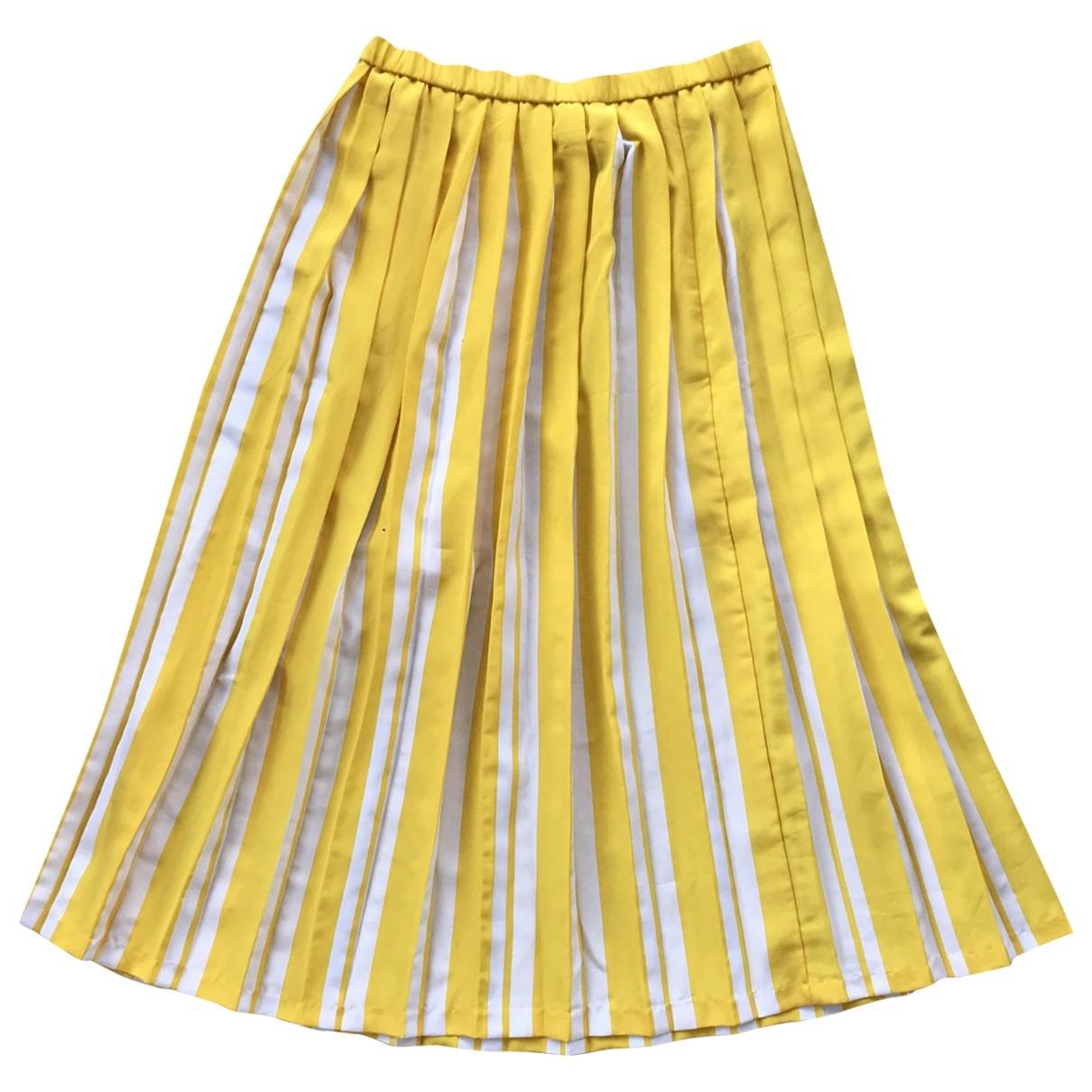 Diane Von Furstenberg - Jupe   pour femme - jaune