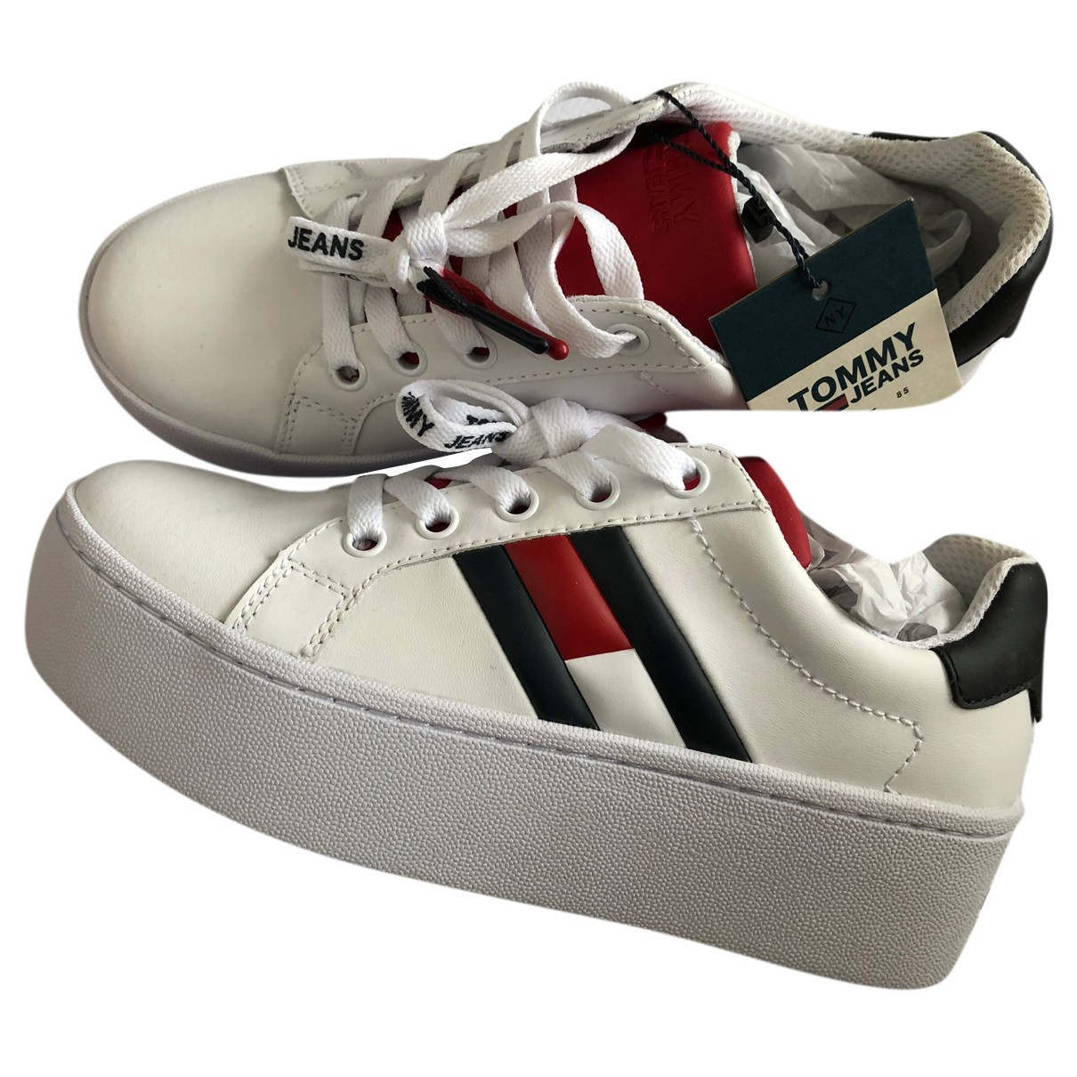 Tommy Jeans \N Sneakers in  Bunt Leder