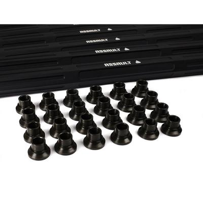 Assault Industries Turret Style Heavy Duty Radius Rods (X3-X DS) Black - 401010RR0901