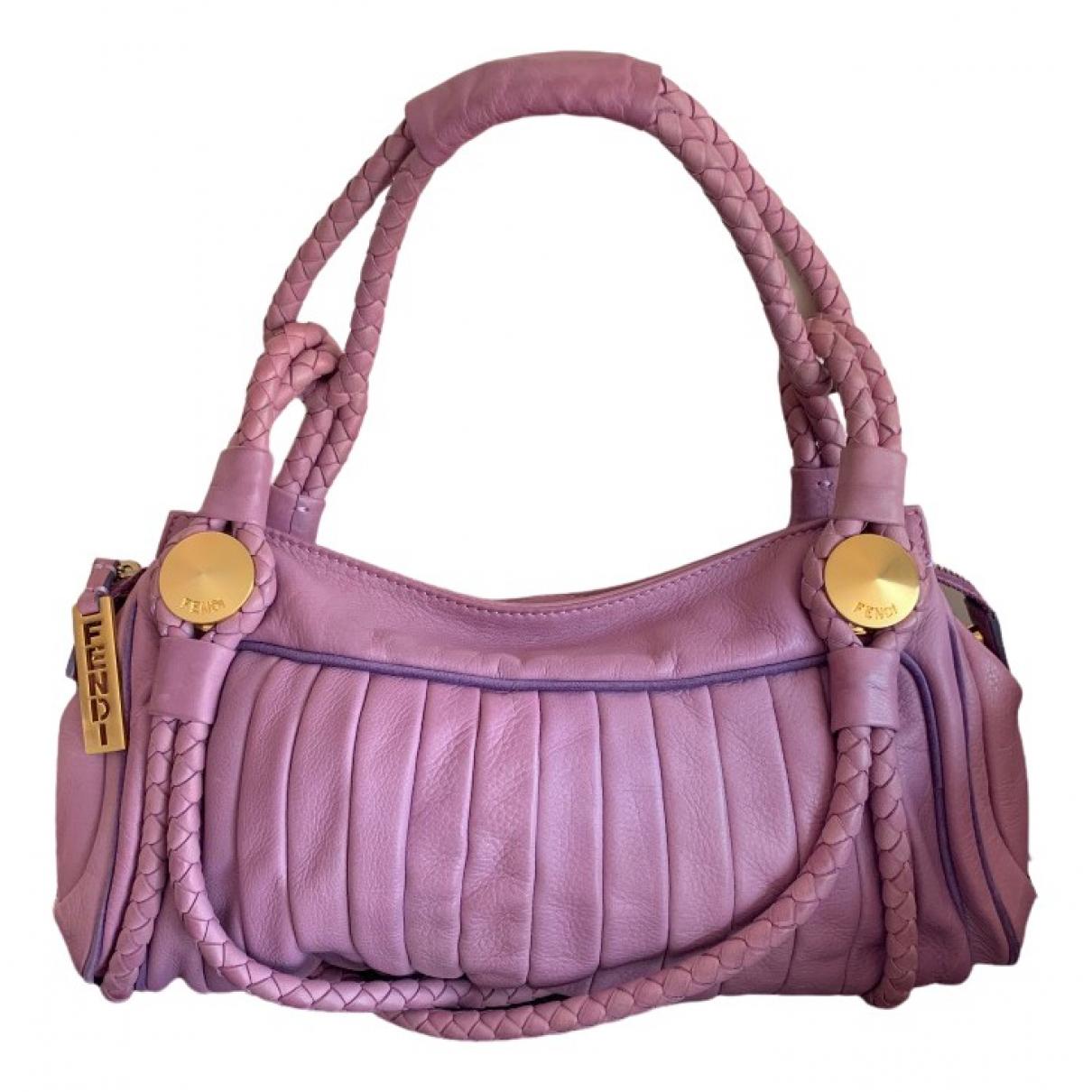 Fendi \N Purple Leather handbag for Women \N