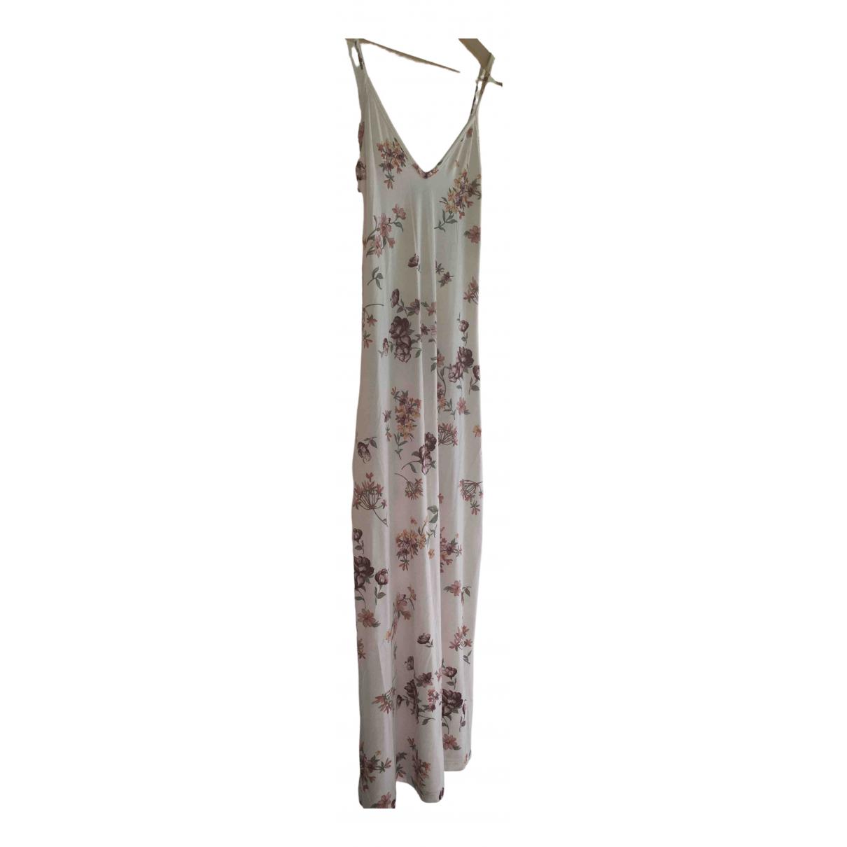 Brandy Melville \N Kleid in  Beige Baumwolle