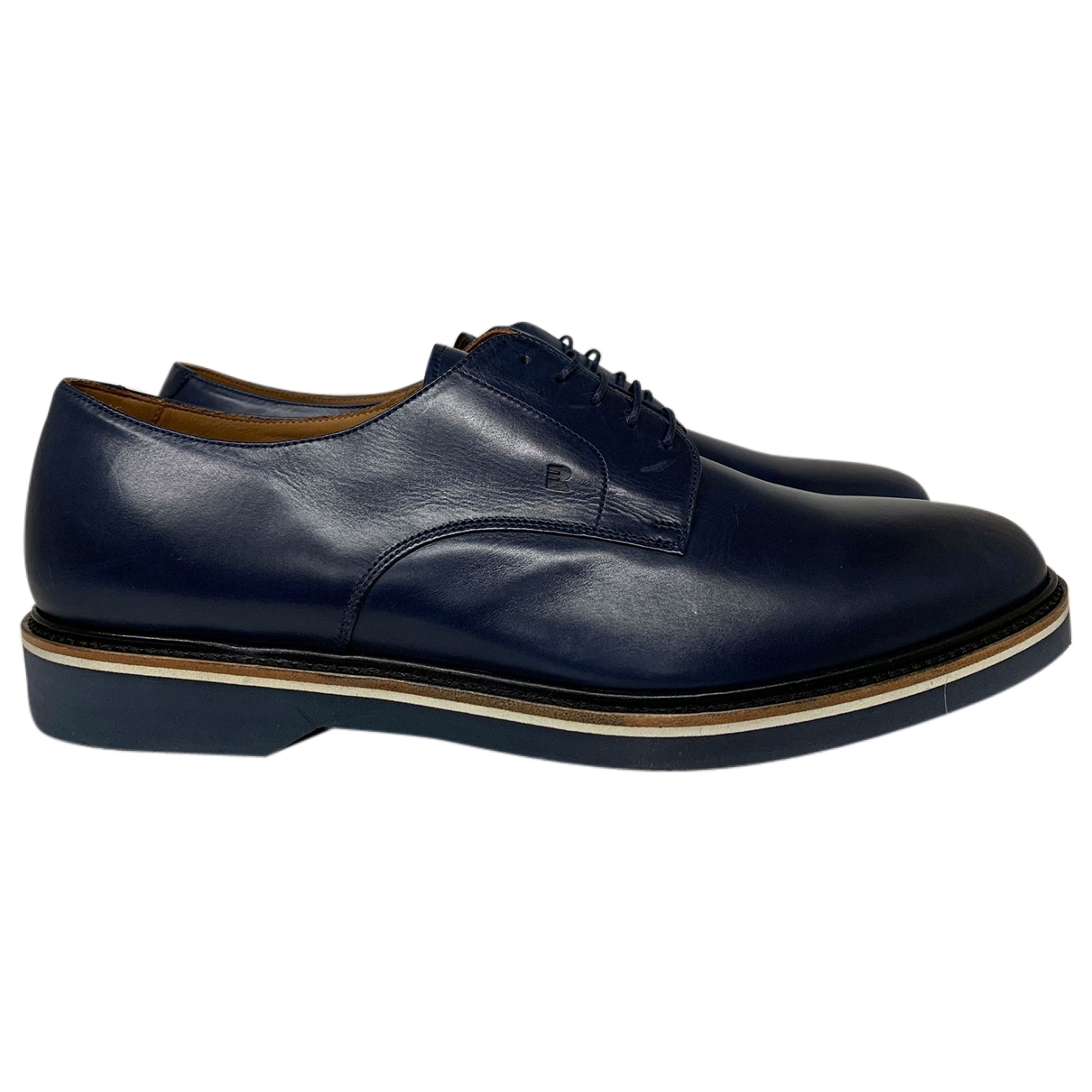 Fratelli Rossetti \N Navy Leather Lace ups for Men 9 UK