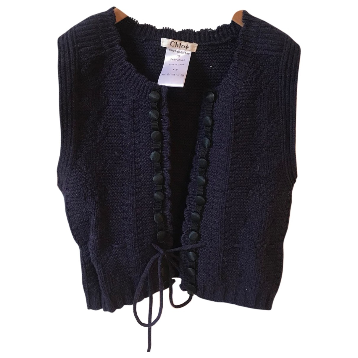 Chloe \N Pullover in  Lila Wolle