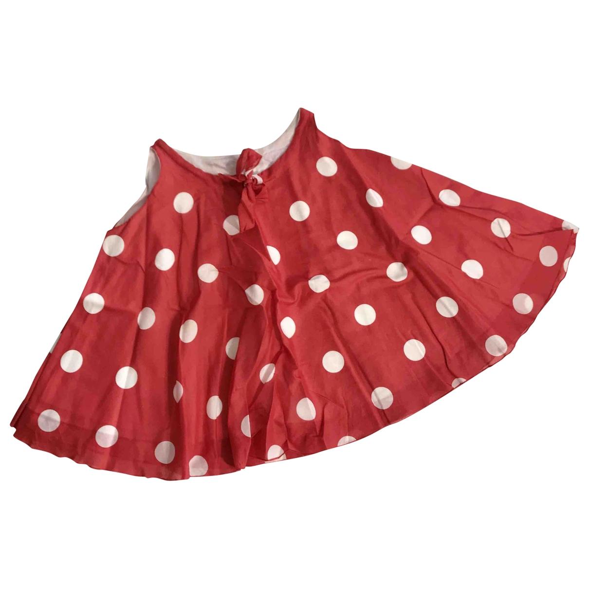 La Stupenderia - Top   pour enfant en coton - rouge