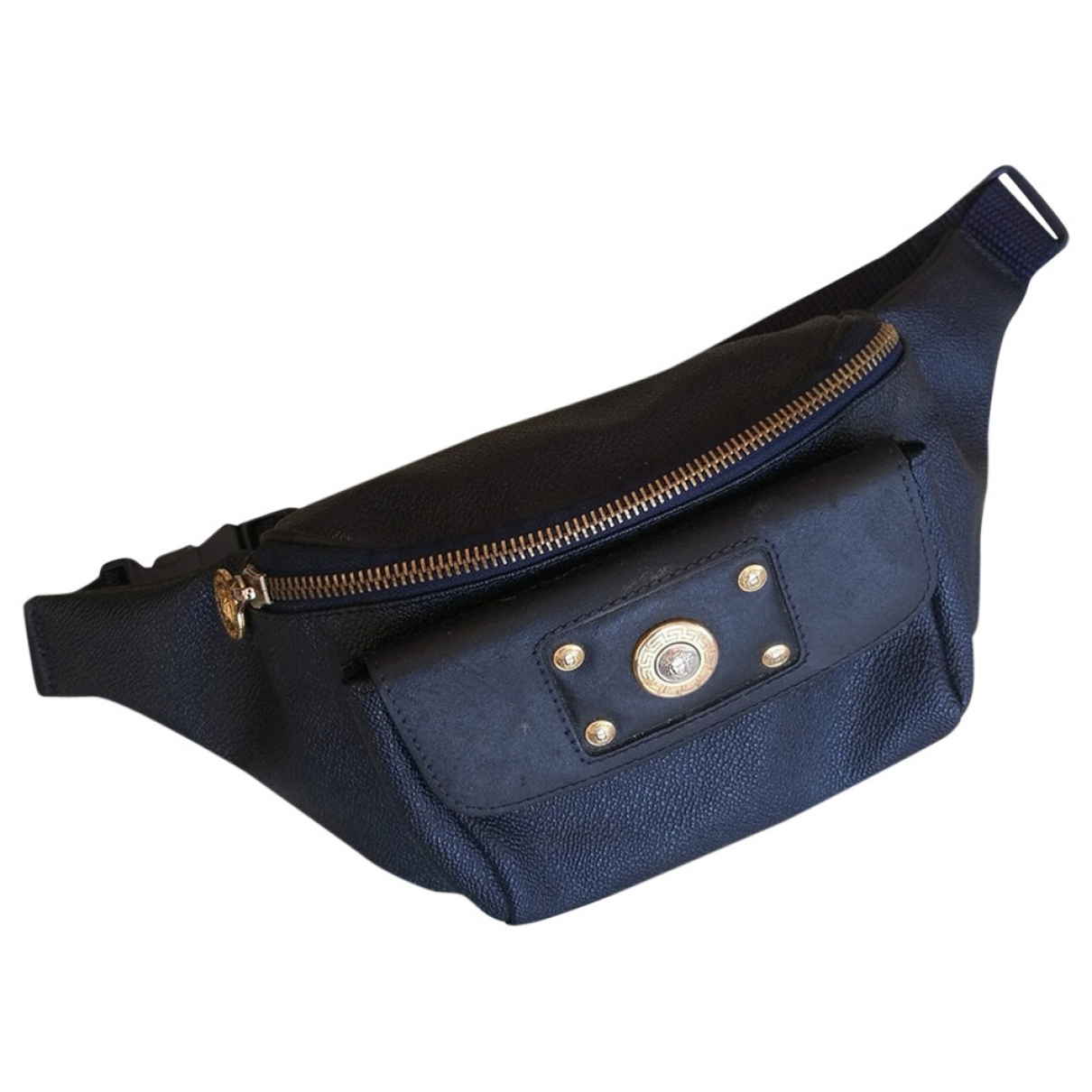 Gianni Versace \N Blue Cloth handbag for Women \N