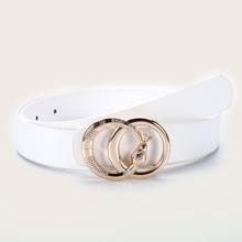 Serpentine Buckle Belt