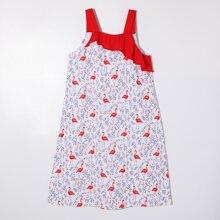 Homewear de Niñas Volante floral de margarita Multicolor Dulce