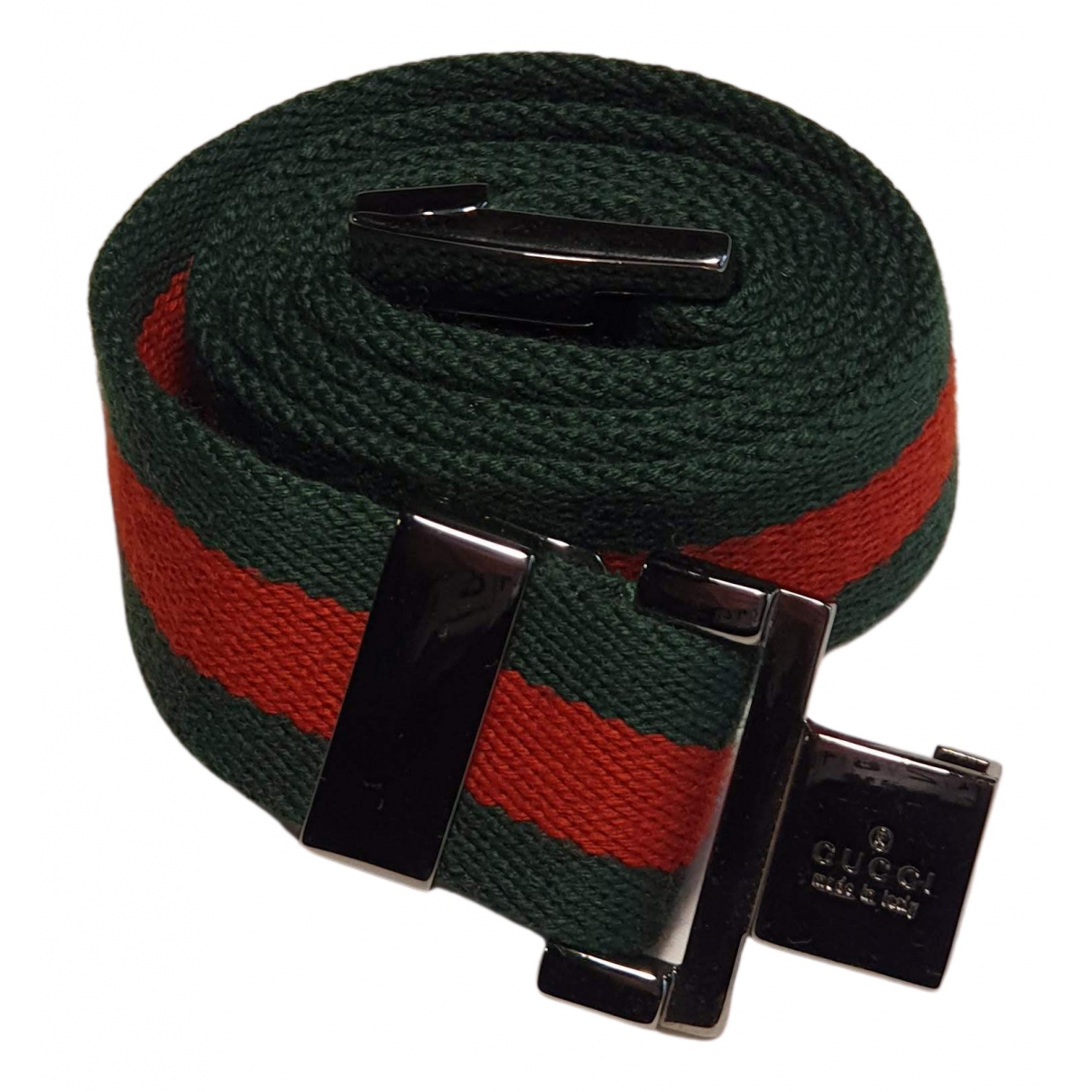 Gucci N Red Cotton belt for Women 90 cm