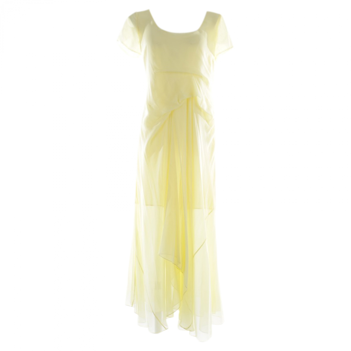 Sies Marjan - Robe   pour femme en soie - jaune