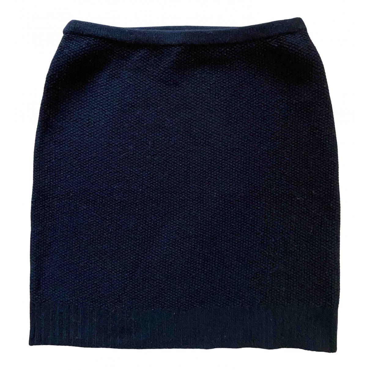 Ralph Lauren - Jupe   pour femme en laine - noir