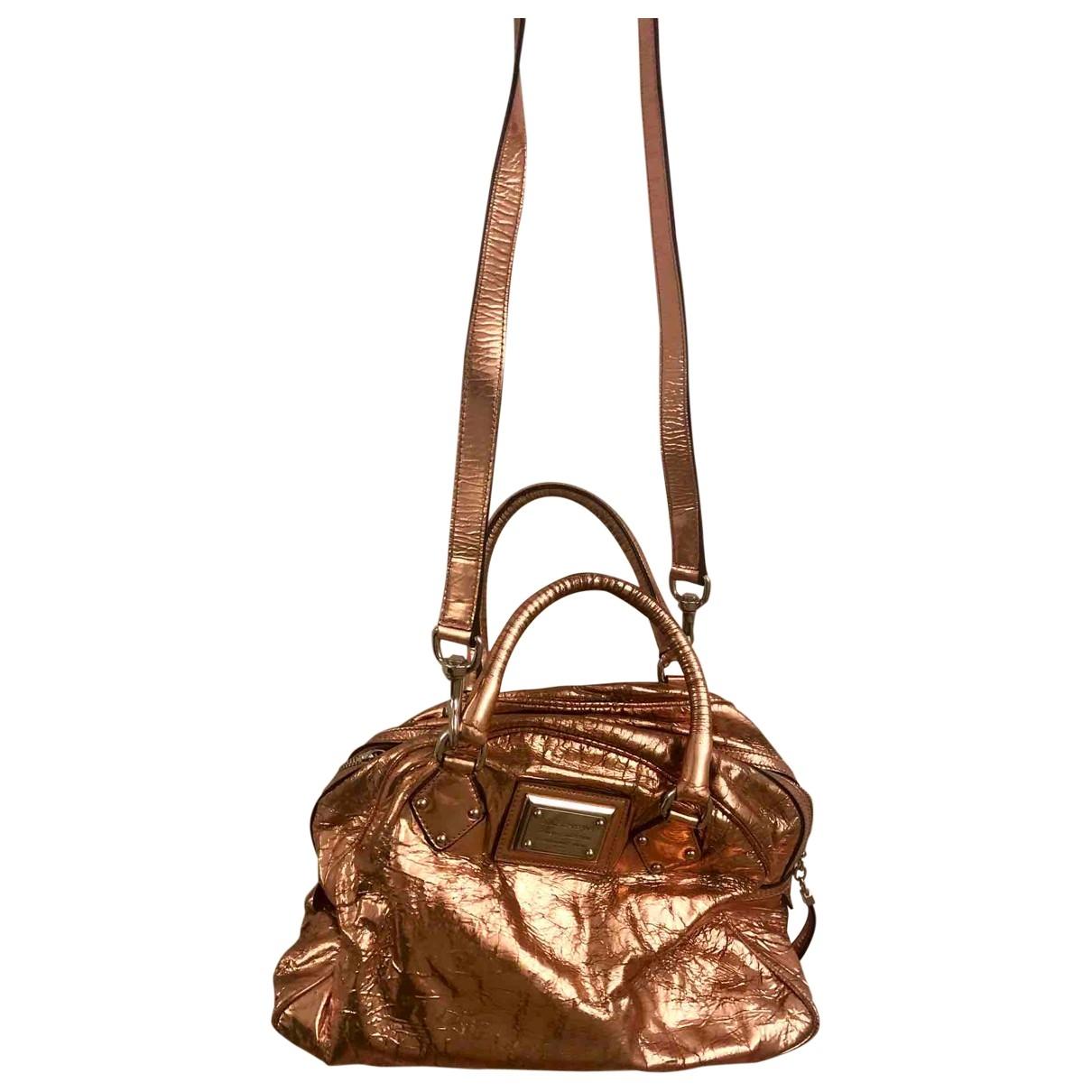 Dolce & Gabbana \N Handtasche in  Metallic Leder