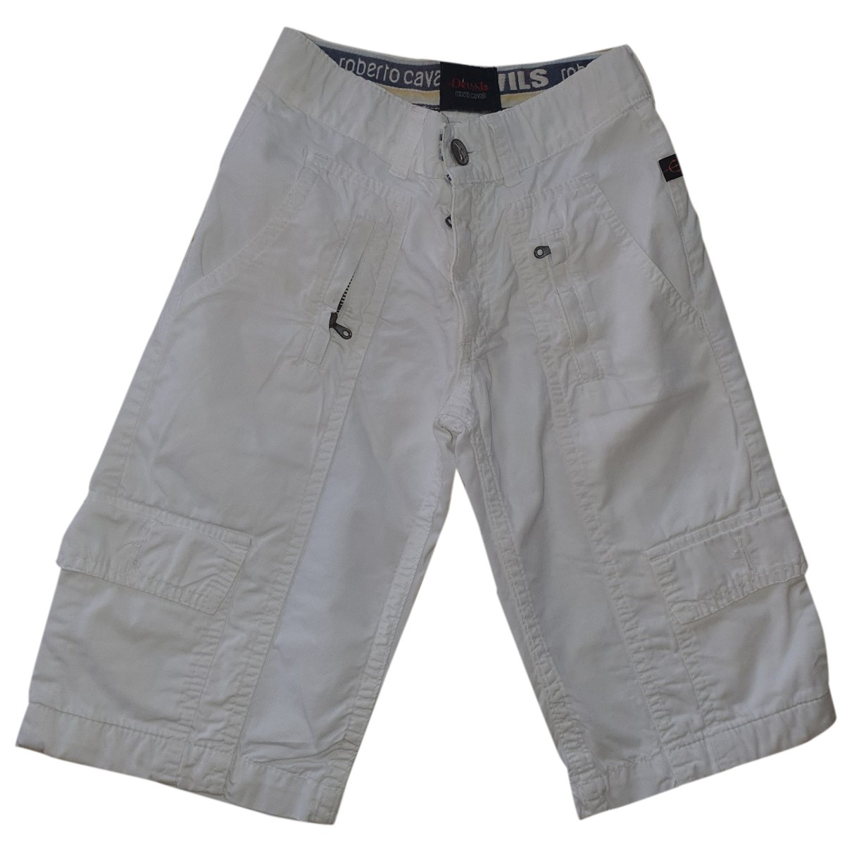 Roberto Cavalli \N White Cotton Shorts for Kids 6 years - up to 114cm FR