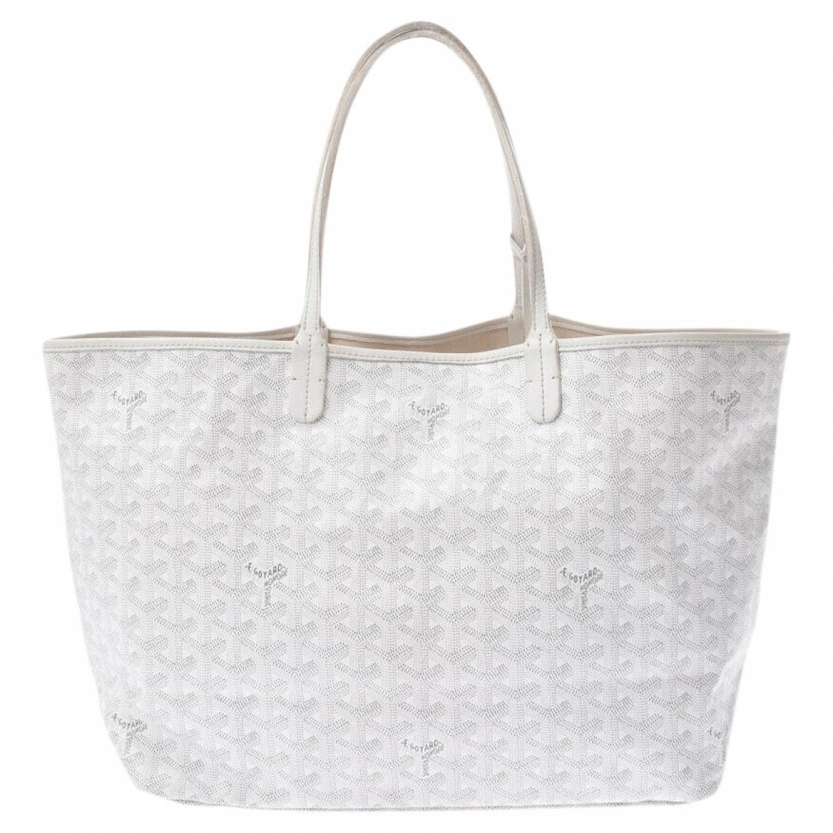 Goyard Saint-Louis White Cloth handbag for Women \N