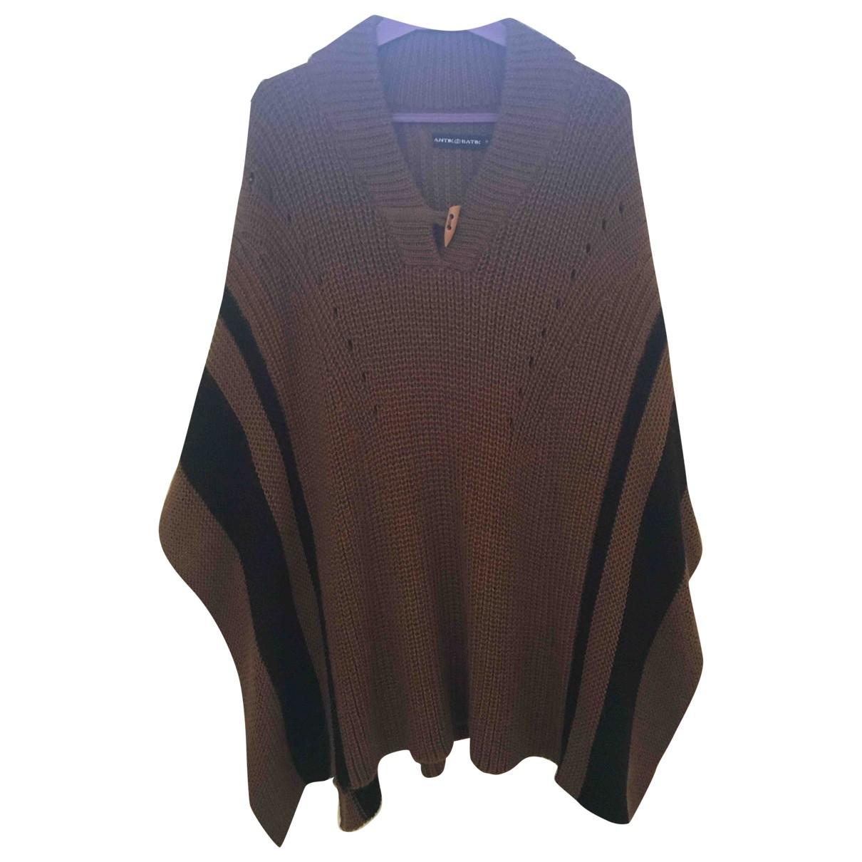 Antik Batik \N Brown Wool jacket for Women One Size International