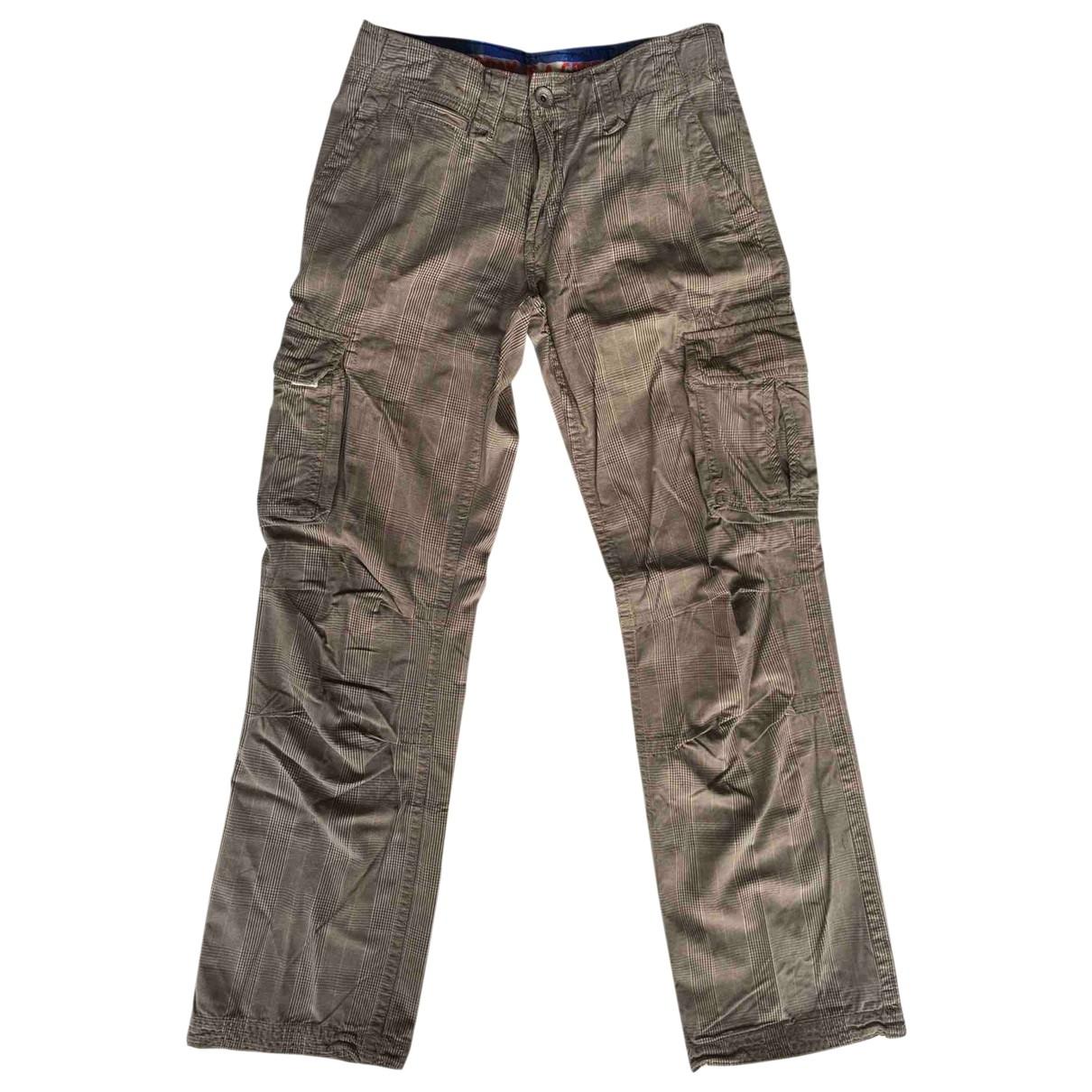 Pantalones en Algodon Multicolor Scotch & Soda