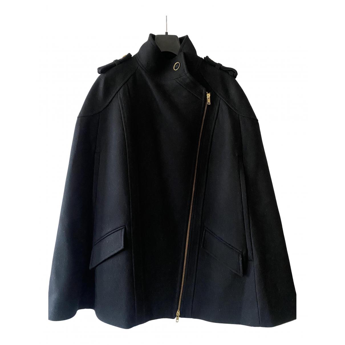 Reiss N Black Wool coat for Women 8 UK