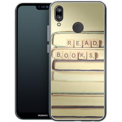 Huawei P20 Lite Silikon Handyhuelle - Read Books von Joy StClaire