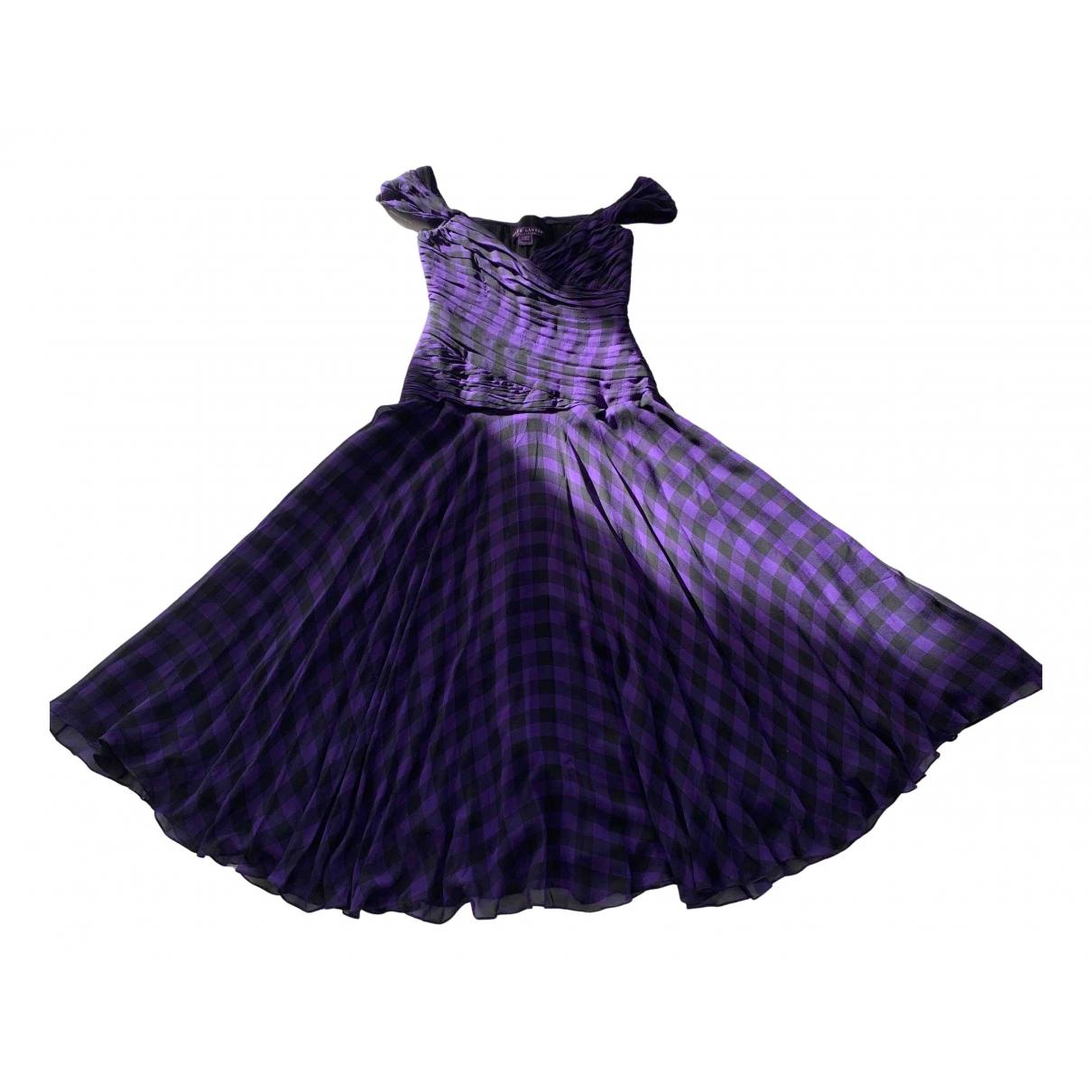 Ralph Lauren Collection - Robe   pour femme en soie - violet