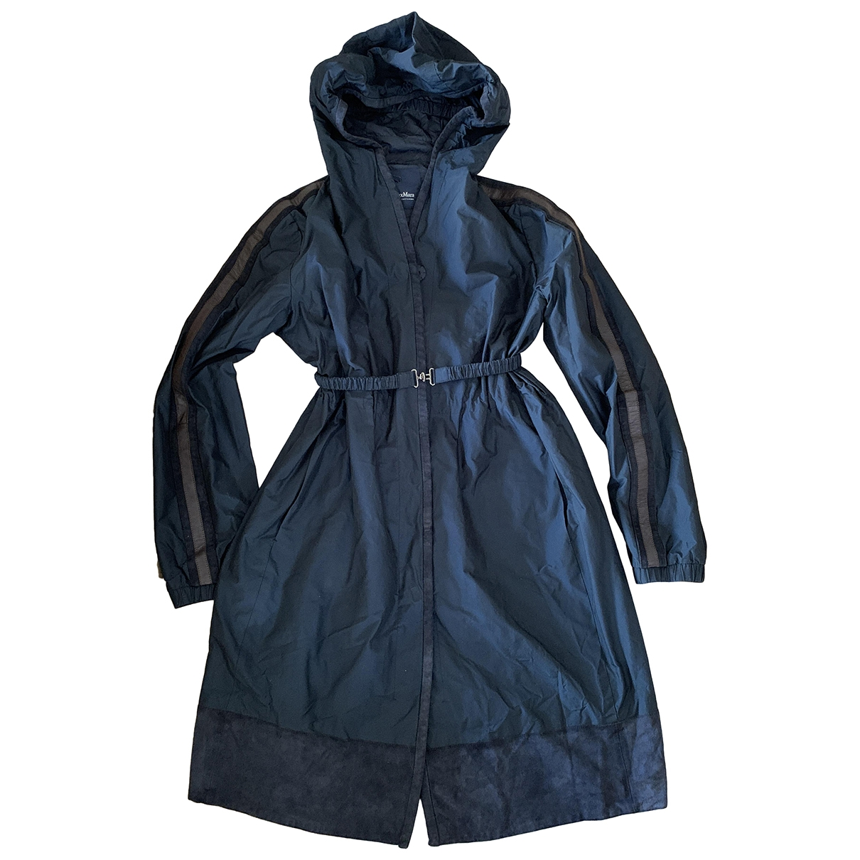 Max Mara s - Trench   pour femme - marine