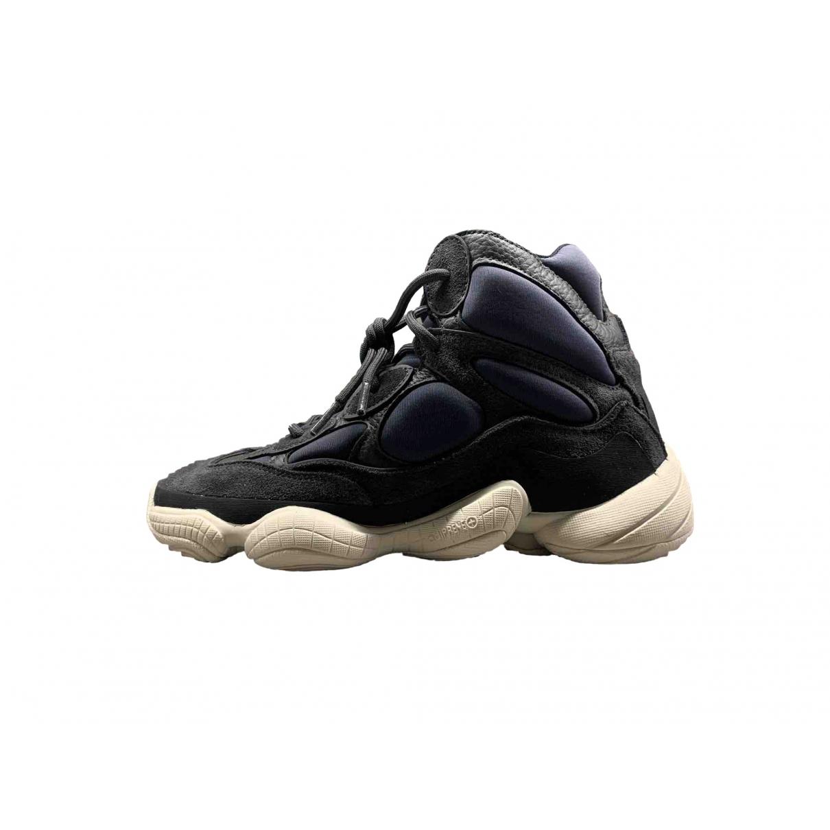 Yeezy X Adidas - Baskets 500 pour homme en suede - bleu