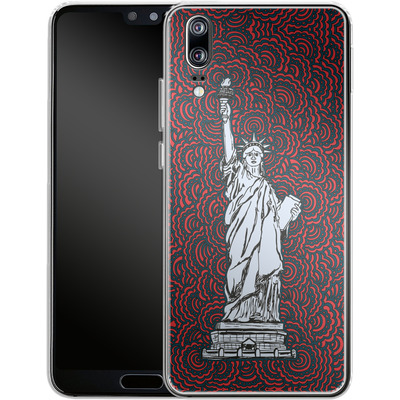 Huawei P20 Silikon Handyhuelle - Liberty von Kaitlyn Parker