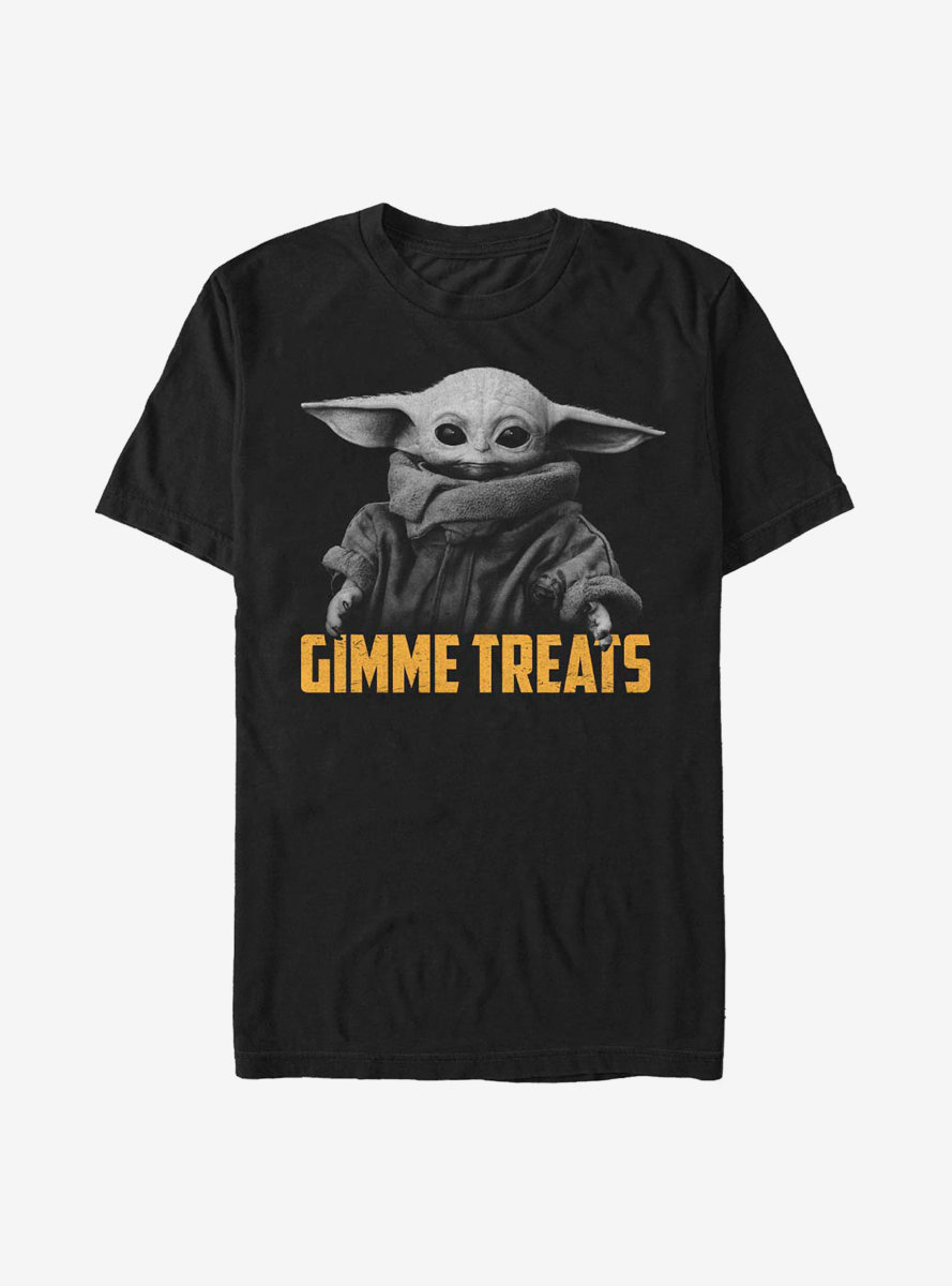 Star Wars The Mandalorian The Child Photoreal Gimmie Treats T-Shirt