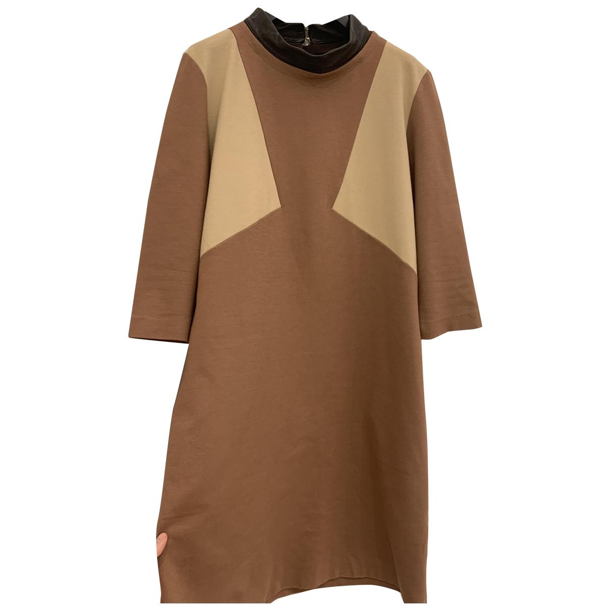 - Robe   pour femme - camel