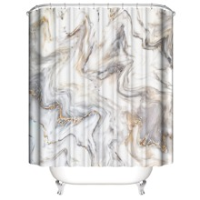 Duschvorhang mit Marmor Muster