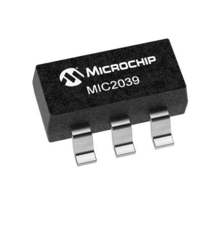Microchip MIC2039EYM6-TR Power Control Switch, High Side 6-Pin, SOT-23 (3000)