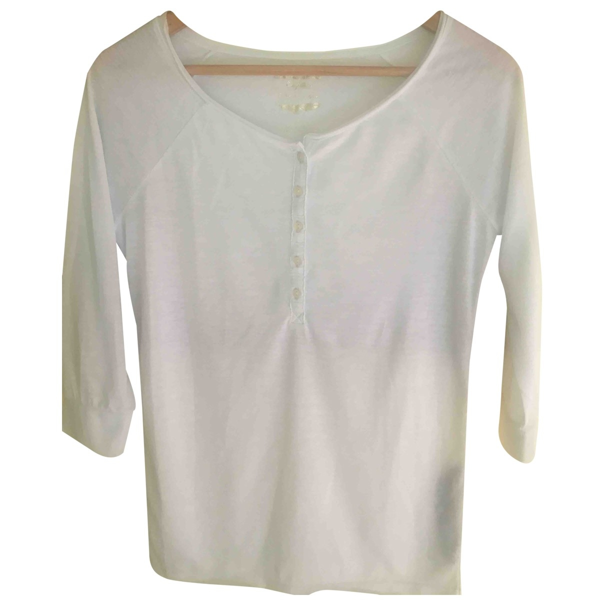 American Outfitters \N Top in  Weiss Polyester