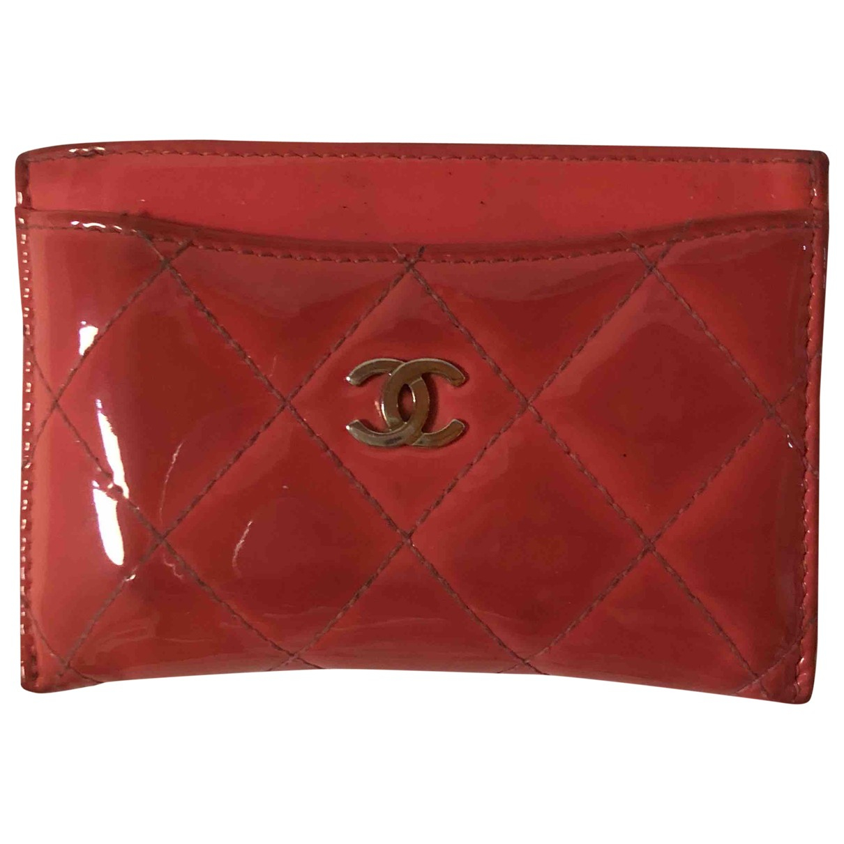Chanel Timeless/Classique Pink Patent leather Purses, wallet & cases for Women \N