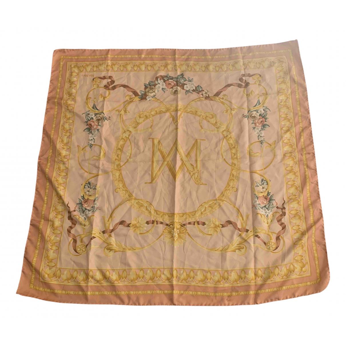 Max Mara N Pink Silk Silk handkerchief for Women N