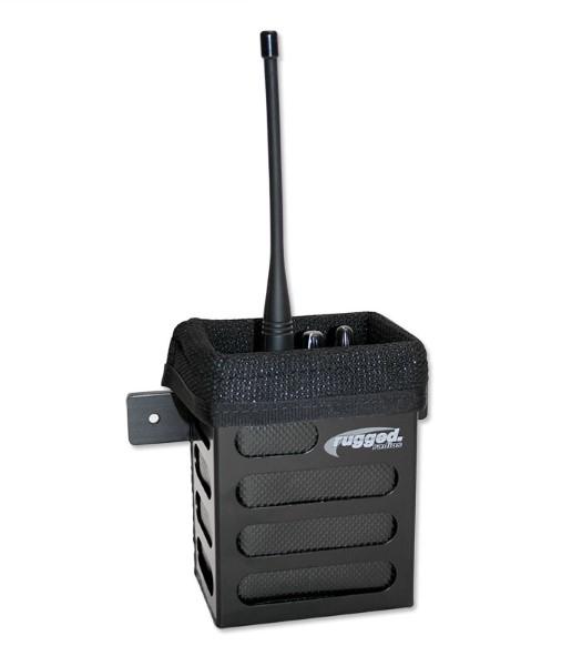 Rugged Radios RBOX-XL Alloy Handheld Radio Mounting Box