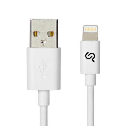 PrimeCables® 1M Lightning Cable, Apple MFi Certified Lightning to USB Charging Sync Cable-3FT - 1/Pack, White