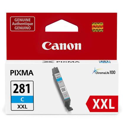Canon CLI-281XXL 1980C001 cartouche d'encre originale cyan extra haute capacité
