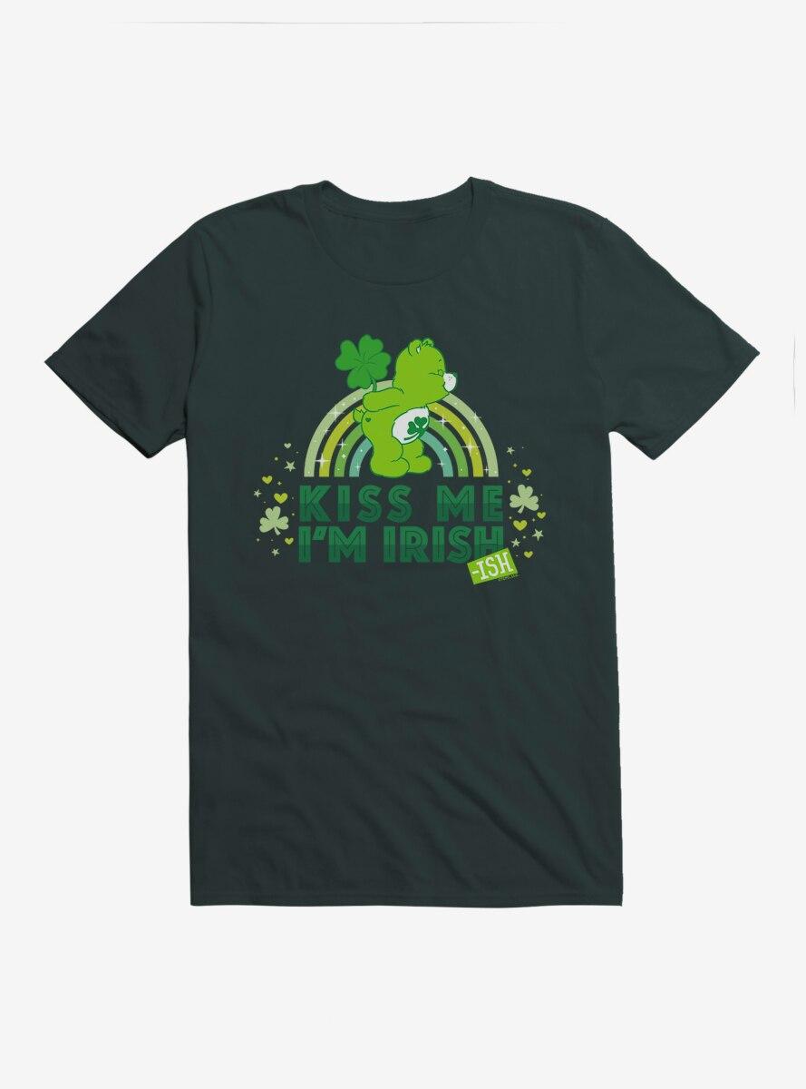 Care Bears Kiss Me I'm Irish T-Shirt