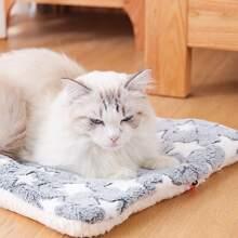 Manta de gato con felpa