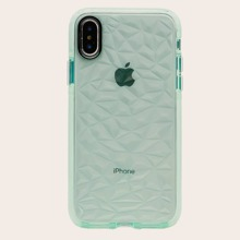 1pc Diamond Pattern iPhone Case