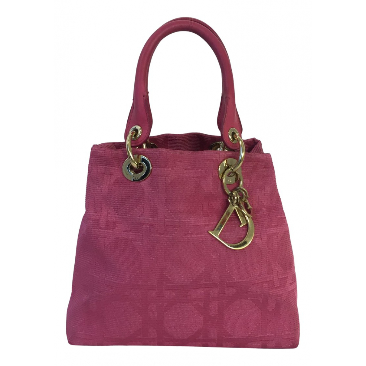 Dior N Pink Cloth handbag for Women N