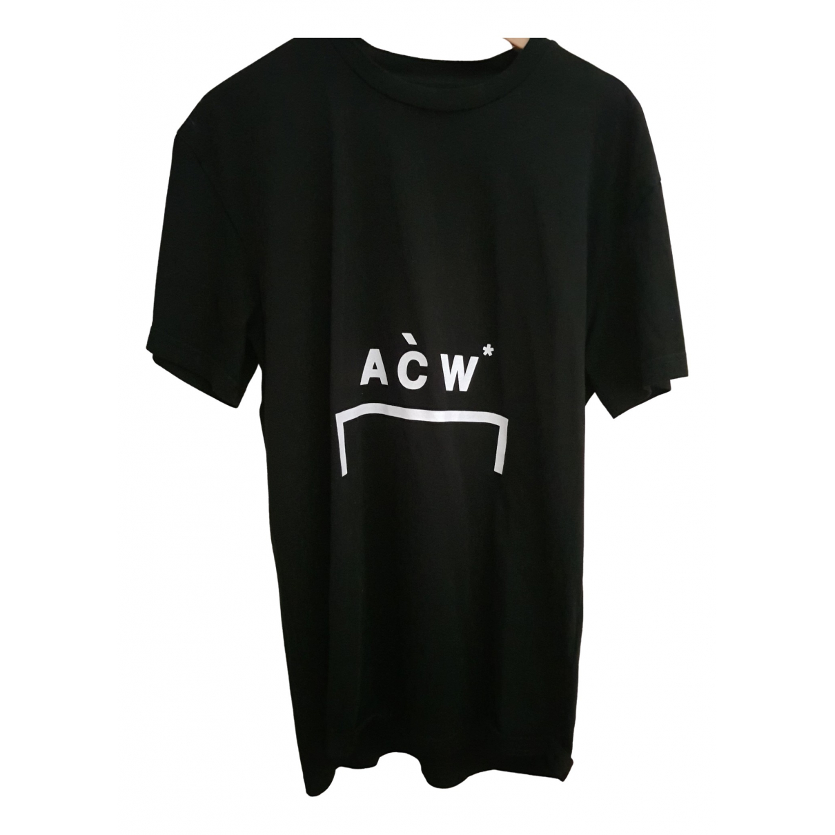 A-cold-wall \N Black Cotton T-shirts for Men M International