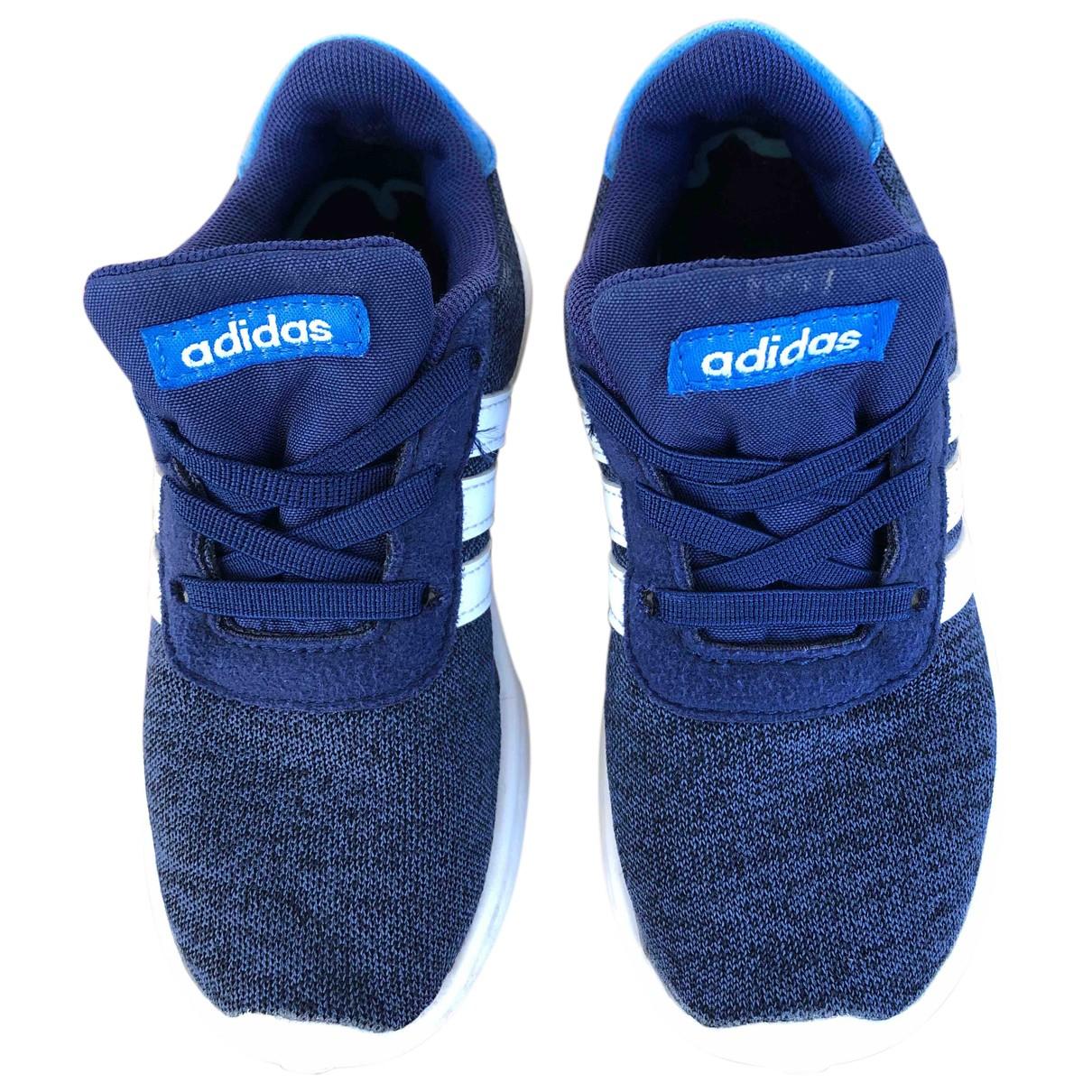 Adidas - Baskets   pour enfant en toile - bleu