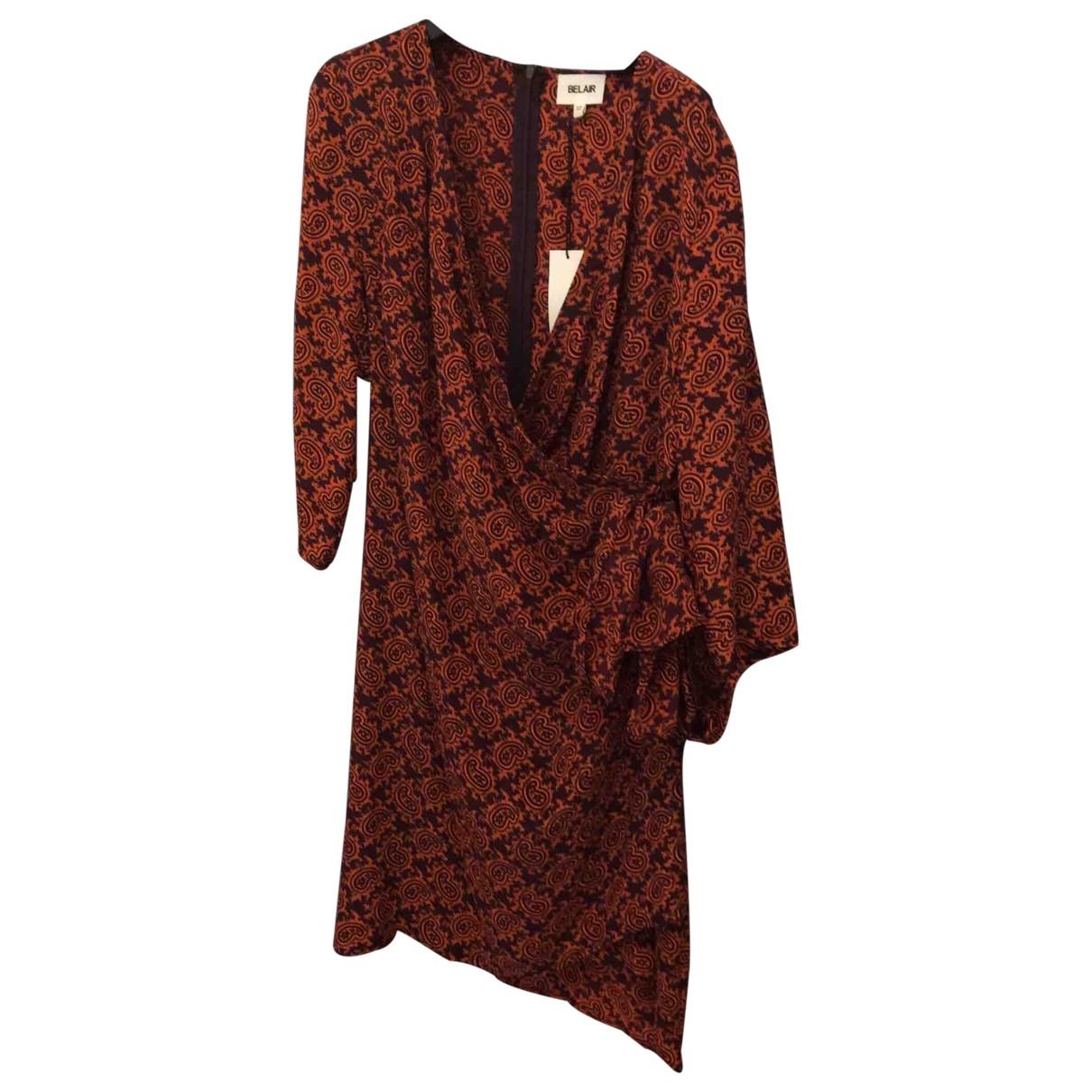 Bel Air \N Kleid in  Lila Seide