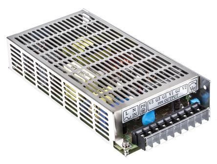 TRACOPOWER , 100W Embedded Switch Mode Power Supply SMPS, 5 V dc, 12 V dc, Enclosed