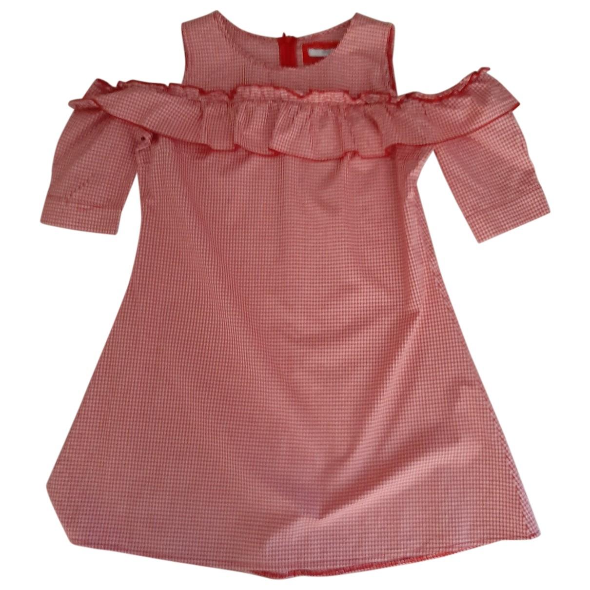 Autre Marque - Robe    pour enfant en coton - rouge