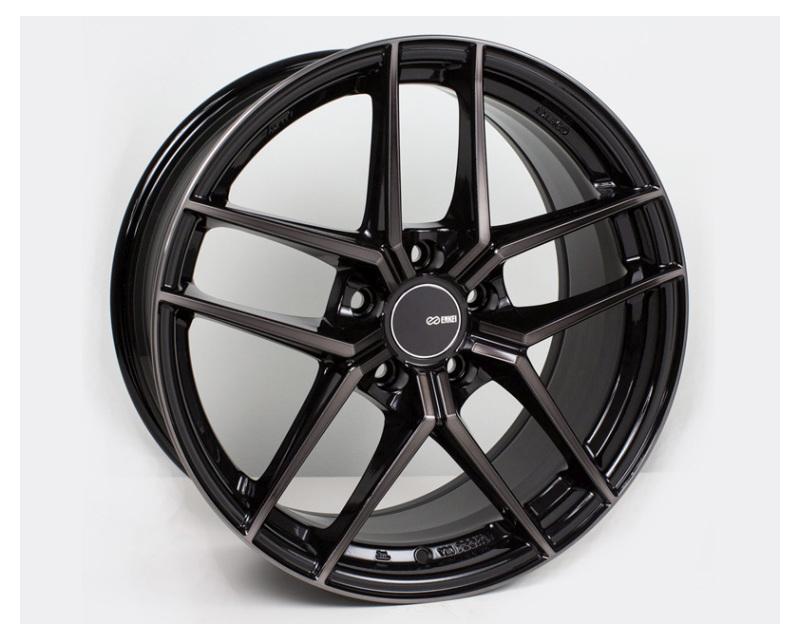 Enkei TY5 Wheel Tuning Series Pearl Black 18x8.5 5x112 42mm
