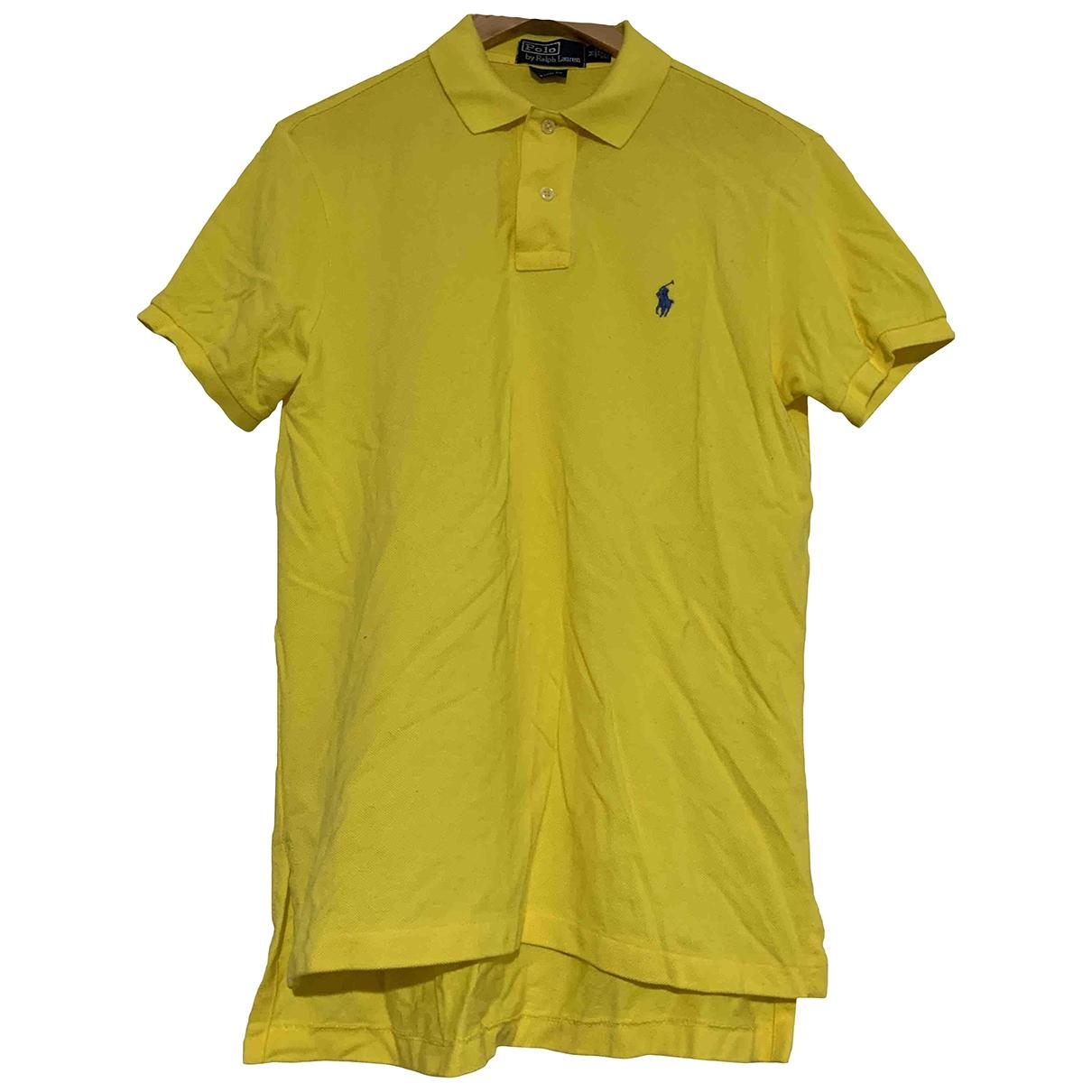 Polo en Algodon Amarillo Polo Ralph Lauren