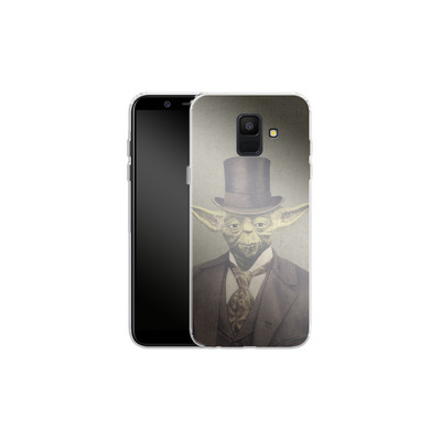 Samsung Galaxy A6 Silikon Handyhuelle - Sir Yodington von Terry Fan