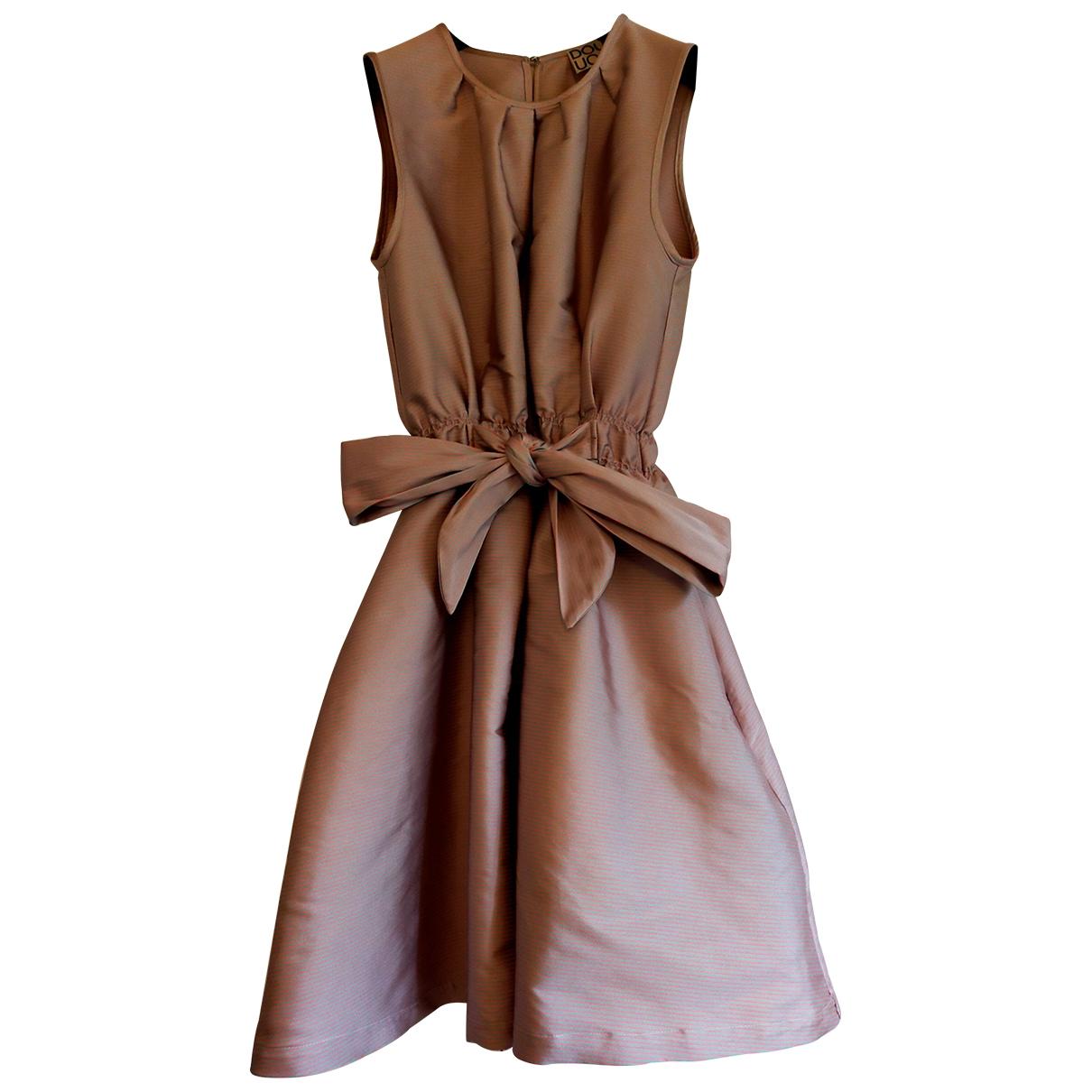Douuod \N Kleid in  Rosa Polyester